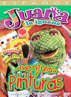 Juana La Iguana Adventuras Y Pinturas,DVD, (Language Spanish Only