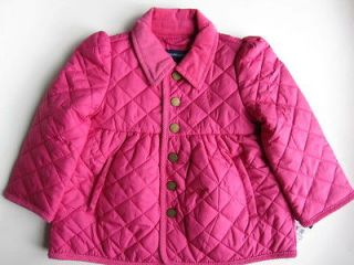 nwt ralph lauren girls barn quilted jacket more options size