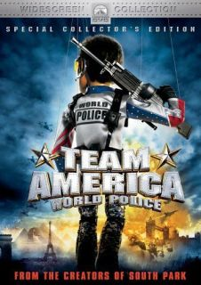 PRE OWNED TEAM AMERICA WORLD POLICE DVD UNCUT SPECIAL EDITION ANIME