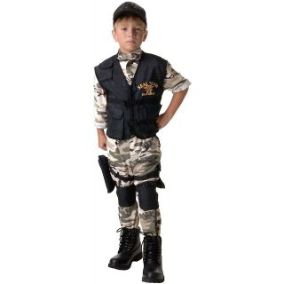SEAL Team VI Child Boys Military Navy Group 6 Halloween Costume