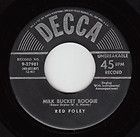 red foley decca 27981 lines milk bucket boogie 45 buy