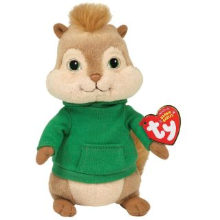 Ty Beanie Baby Theodore, Alvin and the Chipmunks   Adorable Stuffed