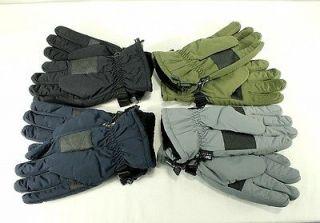 3M Black Diamond Mens Winter Wear Thinsulate Insulated Ski Gloves