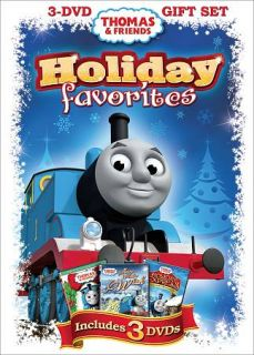 Thomas Friends Holiday Favorites DVD, 2011, 3 Disc Set