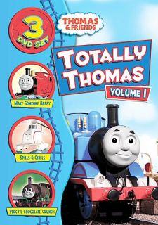 Thomas Friends   Totally Thomas   Vol. 1 DVD, 2009, 3 Disc Set