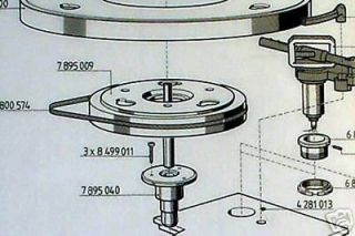 thorens td 150 turntable drive belts cleaning pads
