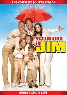 According to Jim The Complete Fourth Season (DVD, 2011, 4 Disc Set)