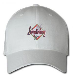 SKYDIVING AIRCRAFT SPORTS SPORT EMBROIDERED EMBROIDERY HAT CAP