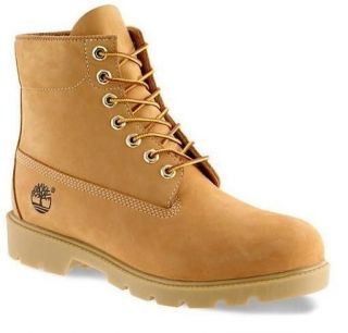 NEW Timberland Wheat Mens Leather 6 Boots Shoes Style #10066 ALL