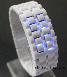 Newly listed Trendy Lady Kids Bracelet Volcanic Lava Faceless Blue LED
