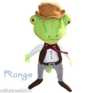 Rango Movie Character Lizard 10 Soft Stuffed Plush Toy Doll Green