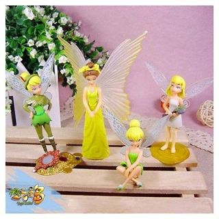 Newly listed 6pcs Disney Peter Pan Tinker bell Angel Set Figure Gifs