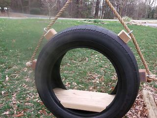 Newly listed Tire Swing For Tree Made From Recycled Tire Comes with 10