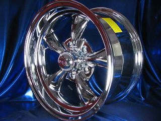 15x7 15x8 CHROME REV CLASSIC 100 WHEELS CHEVROLET GMC C 10 PICKUP