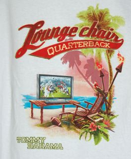 Tommy Bahama Lounge Chair Quarterback 1XB Big Screen TV Watch Football