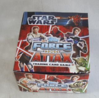 Full box of Topps Star Wars Force Attax Trading Card Game  50