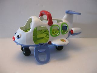 Fisher Price Little People AIRPLANE JET toddler toy makes sound!