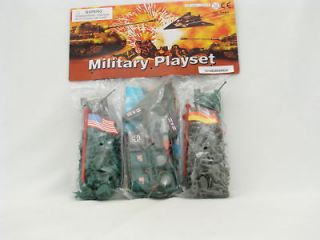 MINI MICRO ARMY MEN 200+ Brand New Green vs Gray WW2 1 25mm 172