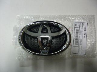 toyota yaris hatchback 2012 front grille emblem 75311 12a10 time