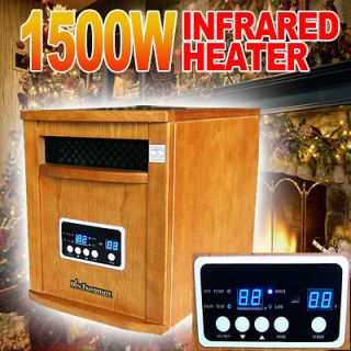 New 1500W Diva Tranquility Portable Quartz Infrared Space Heater 1500