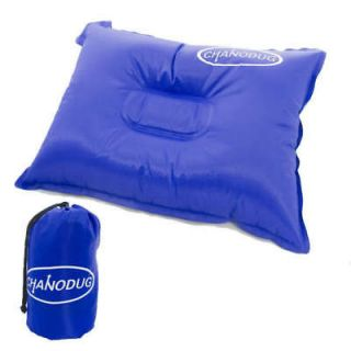 Newly listed Self Inflatable Pillow Camping Water Resist Travel BLUE