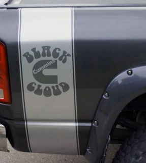 bed side bedside decal decals fit dodge cummins truck more