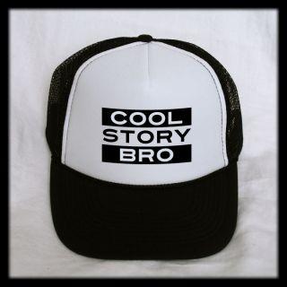 Cool Story Bro Trucker Hat Cap Mesh Back Snapback Funny Novelty