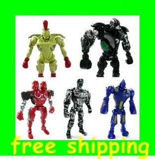 Real Steel figures figure Twin Cities Midas Zeus Noisy Boy Atom Free