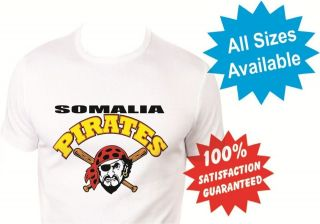 wiz khalifa somalia pirates womans T Shirt New White Custom Print Tee