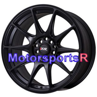 XXR 527 Flat Black Concave Rims Wheels 5x114.3 04 08 Acura TL Type S