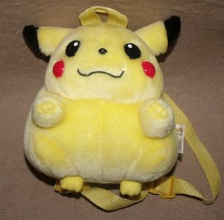 pikachu plush backpack in TV, Movie & Character Toys