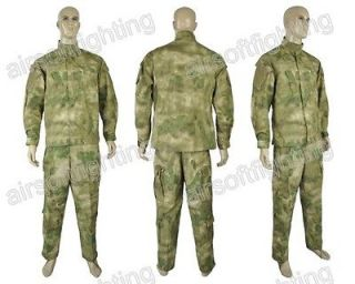 Military Special Force Combat Uniform Shirt & Pants A TACS FG Medium A