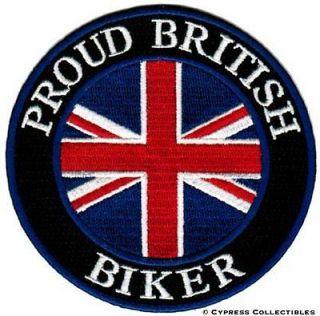 BRITISH embroidered iron on PATCH UK ENGLAND FLAG BRITAIN UNION JACK