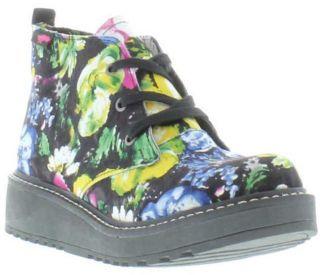 Rocket Dog Genuine Beehive Brushed Floral Womens Boots Black Szies UK