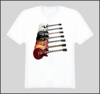 les paul electric guitar creator music t shirt more options