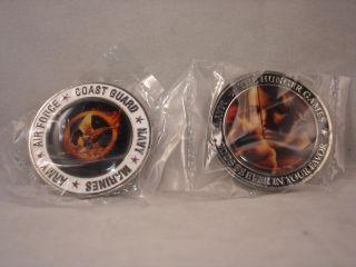 Games Collectible Rare Coin Army, Air Force, Coast Guard Navy Marines