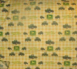pr john deere yellow check design curtains 36 time left