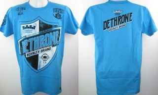 dethrone royalty turquoise shield t shirt new