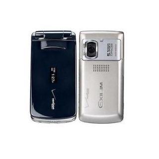 Verizon Casio Hitachi Exilim C721 Camera Cell Phone Gold/Black Used