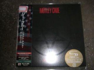 motley crue shout at the devil japan mini lp shm cd obi from china