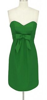 BL1388 EMERALD GREEN STRAPLESS PADDED BRIDESMAID COCKTAIL PARTY PROM