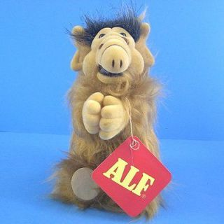 K255L Vintage Original Russ ALF Alien Furry Plush Doll Clip on 6 New