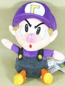 Newly listed super mario bros waluigi bb 8 soft plush doll toy cute