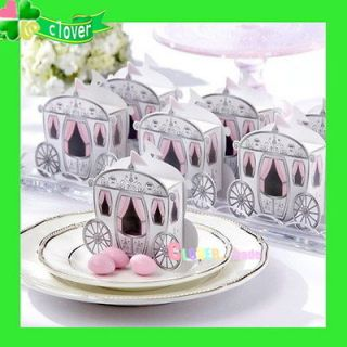 "Enchanted Carriage""Wedding Favor Sweet Party Boxes Wedding Gift"