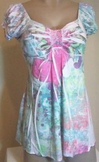 New Womens Maternity Clothes Multi Color Shirt Top Blouse S M L XL