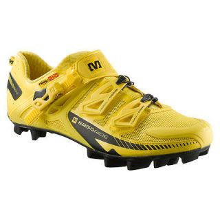 Mavic Fury mountain MTB bike cycling bicycle shoe 9 new yellow