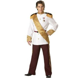 Ultra Deluxe Distinguished Prince Charming Costume Men Size MED (see