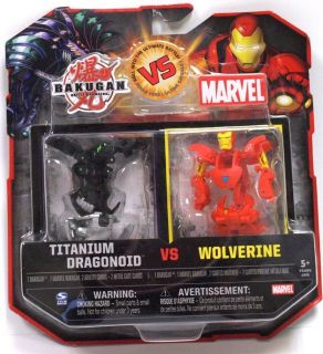 Marvel Titanium Dragonoid Razenoid Iron Man Wolverine Error Card 1/1