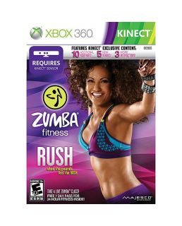 lot of 18 games zumba fitness rush xbox 360 2012