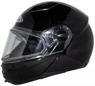 Zox Ebeko Glossy Black Light Weight Full Face Motorcycle Helmet Glossy